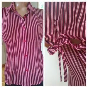 ⭐⭐Sale⭐⭐Emna James striped blouse. Size 10